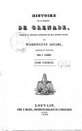 Histoire de la conquête de Grenade. Tome 1 / , tirée de la chronique manuscrite de Fray Antonio Agapida par Washington Irving. Traduite de l'anglais par J. Cohen...