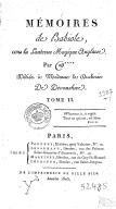 Mémoires de Babiole, ou la Lanterne magique anglaise, par W****.... Tome 2