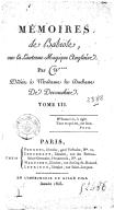Mémoires de Babiole, ou la Lanterne magique anglaise, par W****.... Tome 3