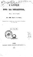 L'année sur la sellette : revue, mêlée de couplets / par MM. Bayard [, Théaulon] et de Courcy