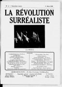 La Révolution surréaliste