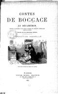 Contes de Boccace : le Décaméron (Édition illustrée...) / traduction nouvelle [par Sabatier de Castres]