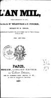 L'an mil : opéra-comique en un acte / paroles de Mrs Mélesville et P. Foucher ; musique de M. Grisar