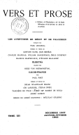 Vers et prose : recueil trimestriel de littérature / dir. Paul Fort
