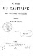 La Fille du capitaine, par Alexandre Pouschkine. Traduction de Louis Viardot