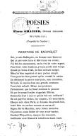 Poésies de Pierre Granier,... : Radotage de Badinguet
