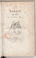 Salon de 1831 / par M. Gustave Planche