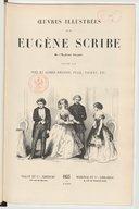 Oeuvres illustrées de M. Eugène Scribe,.... Vol. 2 / dessins par Tony et Alfred Johannot, Staal, Pauquet, etc.
