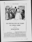 Les mendiants de Paris / Clémence Robert