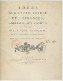 Idées sur l'état actuel des finances... par Armand Séguin,... 2e édition...