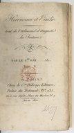 Hermann et Émilie. Tome 3 / . Traduit de l'allemand d'Auguste La Fontaine, par le Cen Ray......al