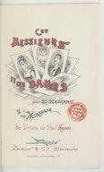 Ces messieurs et ces dames / par E. Navarro de la Miraglia,... ; 30 dessins de Paul Hadol