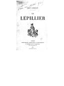 Les Lépillier / Jean Lorrain