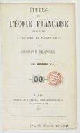 Etudes sur l'école française (1831-1852), peinture et sculpture. Tome 2 / par Gustave Planche