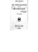 De l'explication dans les sciences. Tome 1 / Émile Meyerson