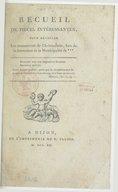 Recueil de pièces intéressantes pour dévoiler les manoeuvres de l'aristocratie lors de sa formation de la municipalité de ***