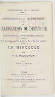 Oeuvres complètes de P.-J. Proudhon. Tome 2