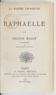 La Bohême tapageuse. Raphaëlle / par Hector Malot