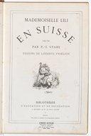 Mademoiselle Lili en Suisse / texte par P.-J. Stahl ; dessins de Lorentz Froelich