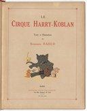 Le Cirque Harry Koblan par Benjamin Rabier