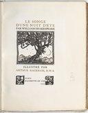 Le songe d'une nuit d'été / par William Shakespeare ; illustré par Arthur Rackham,...