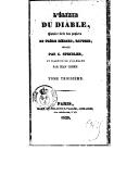 L'élixir du diable : histoire tirée des papiers du frère Médard, capucin. [Volume 3] / publiée par C. Spindler et traduite de l'allemand par Jean Cohen...