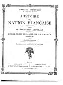 Histoire de la nation française. 1, Introduction générale / [éd. par] Gabriel Hanotaux