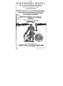 Le piacevoli notti. Libro 1 / , di M. Giovan Francesco Straparola da Caravaggio, nelle quali si contengono le favole con i loro enimmi, da dieci donne e duo giovanni raccontate. Nuovamente ristampate e... ravvedute...