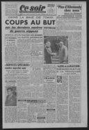 Ce soir : grand quotidien d'information indépendant / directeur Louis Aragon ; directeur Jean Richard Bloch