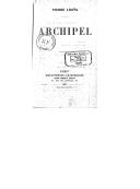 Archipel / Pierre Louys