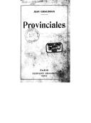 Provinciales (5e éd.) / Jean Giraudoux