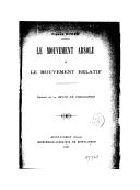 Le mouvement absolu et le mouvement relatif / Pierre Duhem
