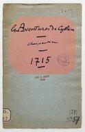 aventures de Cythère, comédie italienne... / [Charpentier]