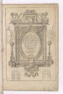 Le premier tome de l'Architecture, de Philibert de L'Orme,...