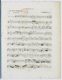 La Nuit étoilée, fantaisie pour clarinette et piano. Op. 17