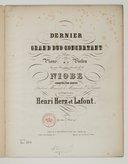 Dernier grand duo concertant pour piano et violon sur une cavatine favorite de la Niobe [de J. Pacini], op. 110