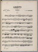 10 Transcriptions classiques pour piano et flûte... par P. Taffanel..., d'après A. Berthemet