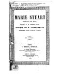 Marie Stuart : opéra en 5 actes / paroles de M. Théodore Anne ; mus. de M. Niedermeyer