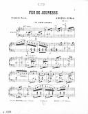 Succès d'Italie. 4, Feu de jeunesse : scherzo-valse [pour piano] : op. 141 / Angelo Cunio