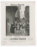 Réveil-matin : [souvenirs d'Etretat] : polka pour le piano / par Gustave Dauvin ; [ill. par] G. Fraipont d'après A. Moreau