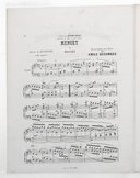6 transcriptions classiques pour le piano. 3, Menuet de Mozart : extrait du Quintette en ré majeur / transcription pour piano par Emile Decombes