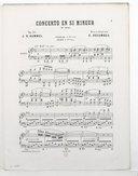 Concerto en si mineur, op. 89 : 1er solo : piano / J. N. Hummel ; revu et doigté par E. Decombes ; [orn. par Barbizet]