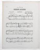 6 transcriptions classiques pour le piano. 4, Scherzo-allegro de Beethoven : extrait du Trio en sol majeur pour les instruments à cordes / transcription pour piano par Emile Decombes