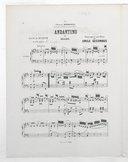 6 transcriptions classiques pour le piano. 5, Andantino de Haydn : extrait du Quatuor en fa [i.e. ré] majeur / transcription pour piano par Emile Decombes