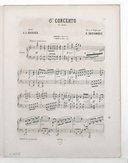 6me concerto, op. 27 : 1er solo : piano / J. L. Dussek ; revu et doigté par E. Decombes ; [orn. par Barbizet]