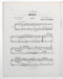 6 transcriptions classiques pour le piano. 6, Menuet de Haydn : extrait du Quatuor en mi bémol / transcription pour piano par Emile Decombes