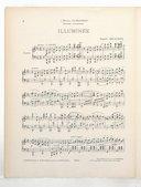 3 pièces pour piano. , Illuminée : [pièce en forme de valse] : piano / Auguste Delacroix