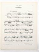 Trois pièces pour piano. 2, Scherzo [pour piano] / A. Delacroix