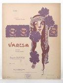 Varésa : valse pour piano / par Auguste Delacroix ; [ill. par] Léonce Burret
