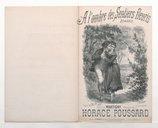 A l'ombre des sentiers fleuris : romance / paroles de Martigny ; musique de Horace Poussard